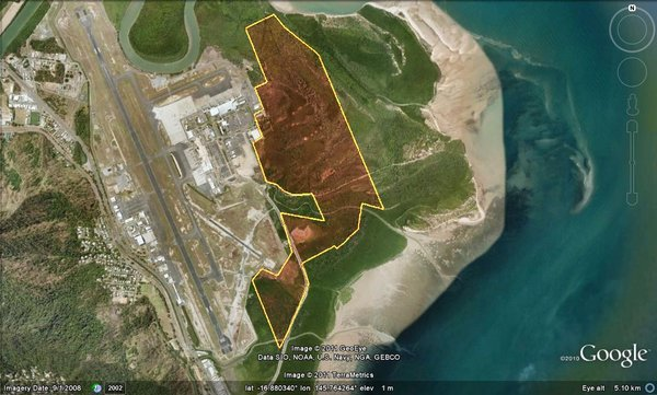 Cairns Airport Land use plan footprint