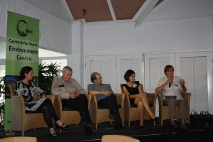 Panel discussion at conference