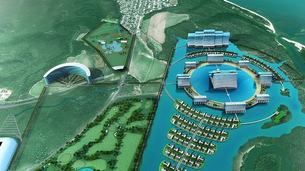 Proposed Aquis Great Barrier Reef Resort