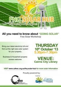 Solar Hub Launch Flier