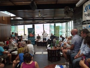 An engaged Cairns and Far North community hear from candidates on reef protection.