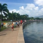 Cairns People's Climate March along the Esplanade - photo: Sharryn Howes Labor for Liechhardt