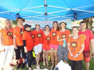 The Climate March organising team from CAFNEC and CCAN