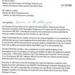 Hunt letter re Cairns PP listing