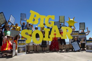 Big solar launch, Cairns 1