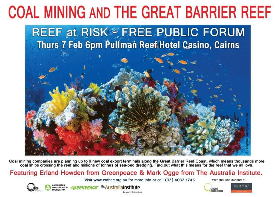 Reef and Coal forum poster