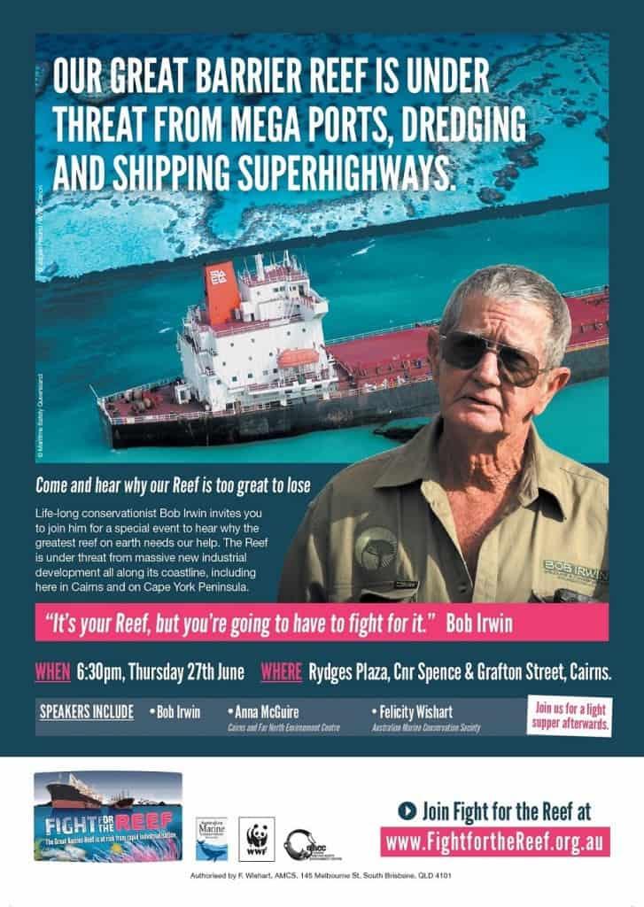 Bob Irwin poster