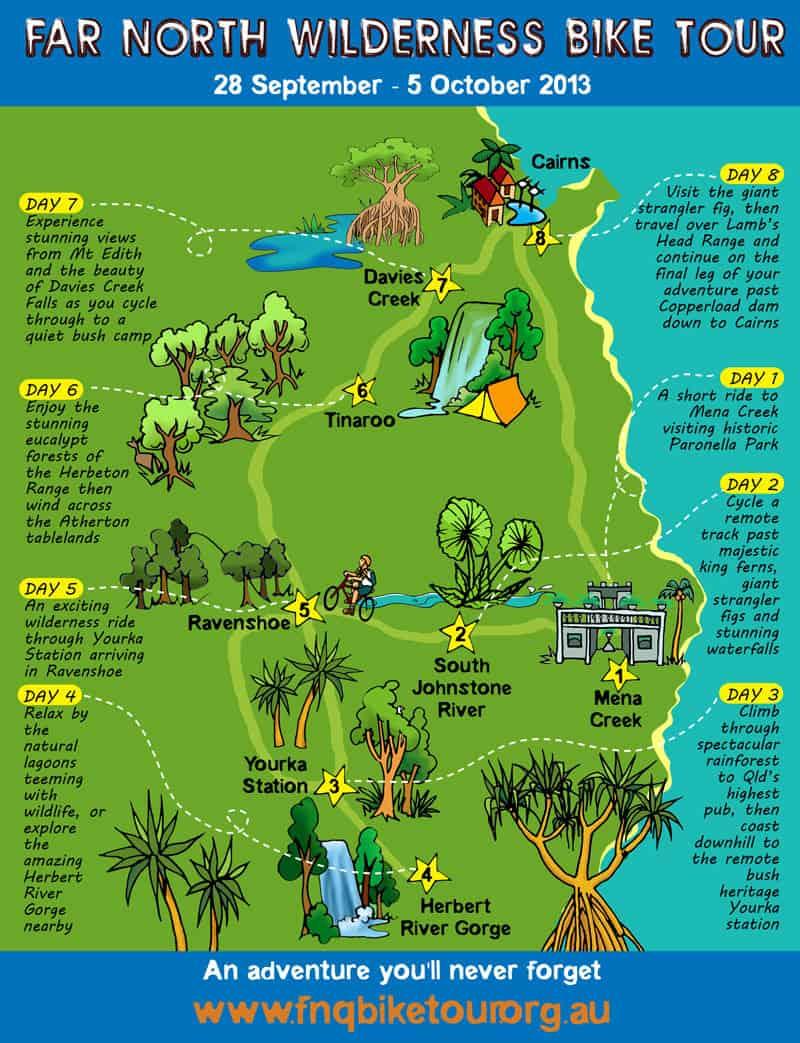 Bike Tour Map 2013
