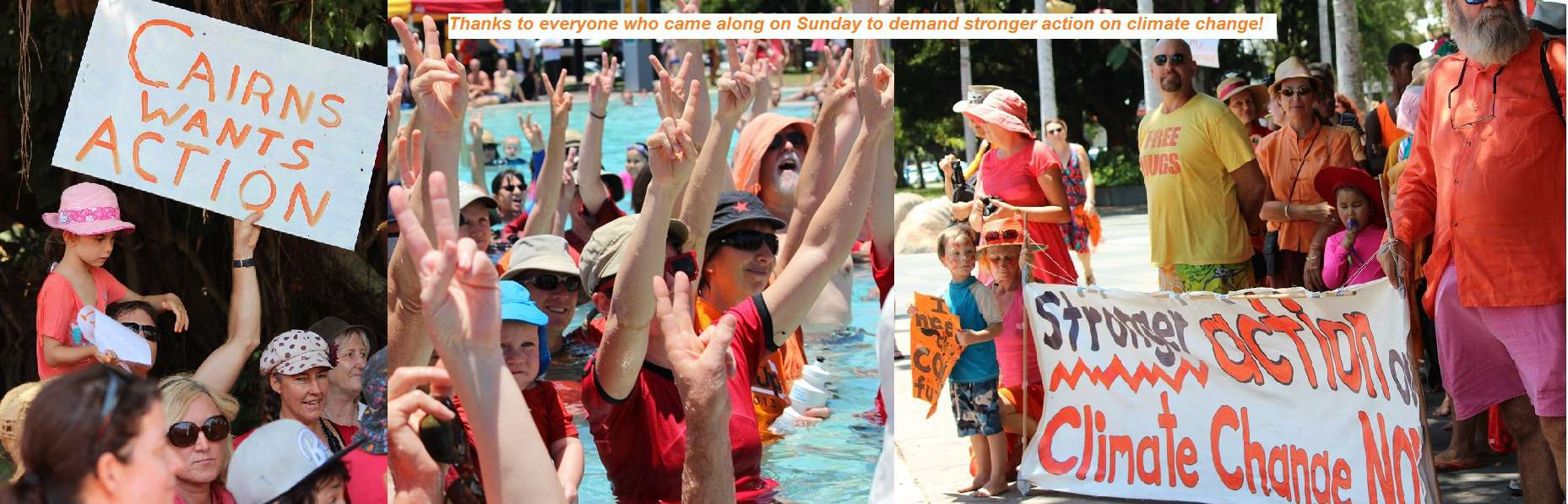 Cairns calls for climate action – Global Cooling Party 2013
