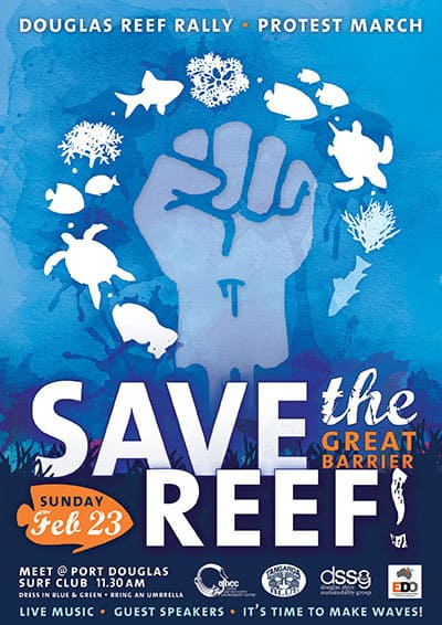 Port Douglas reef rally – rise up for the reef!