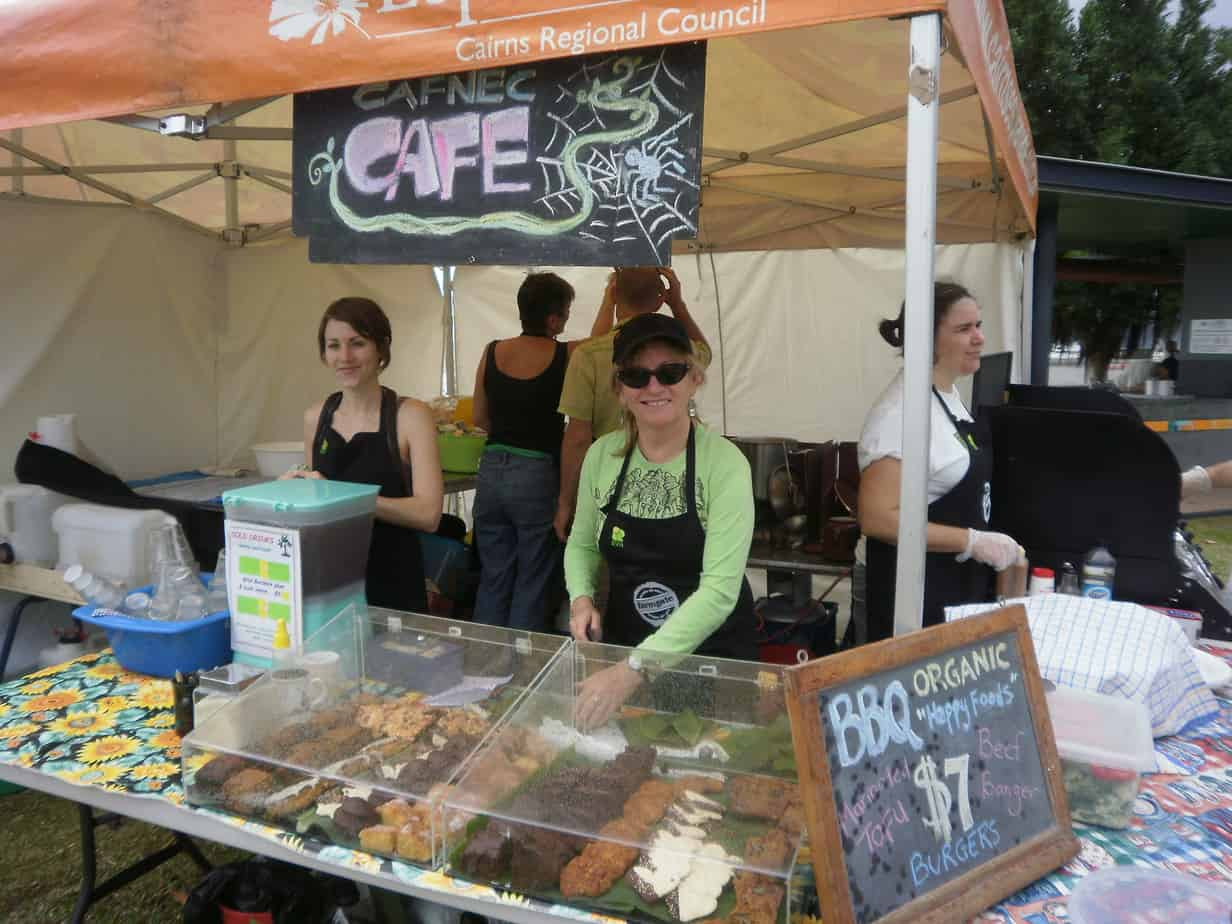 Sustainble Living Expo – Food Stall