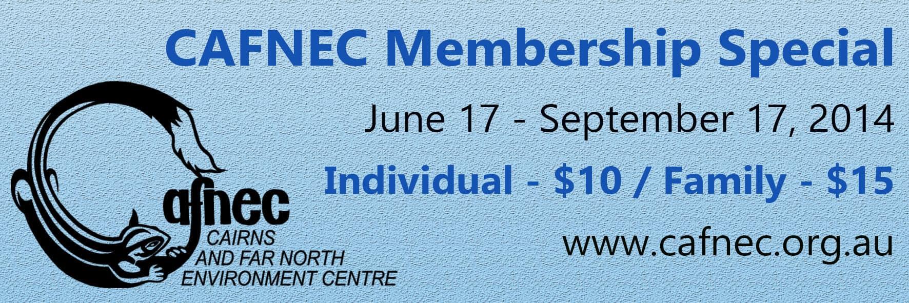 CAFNEC Membership Special