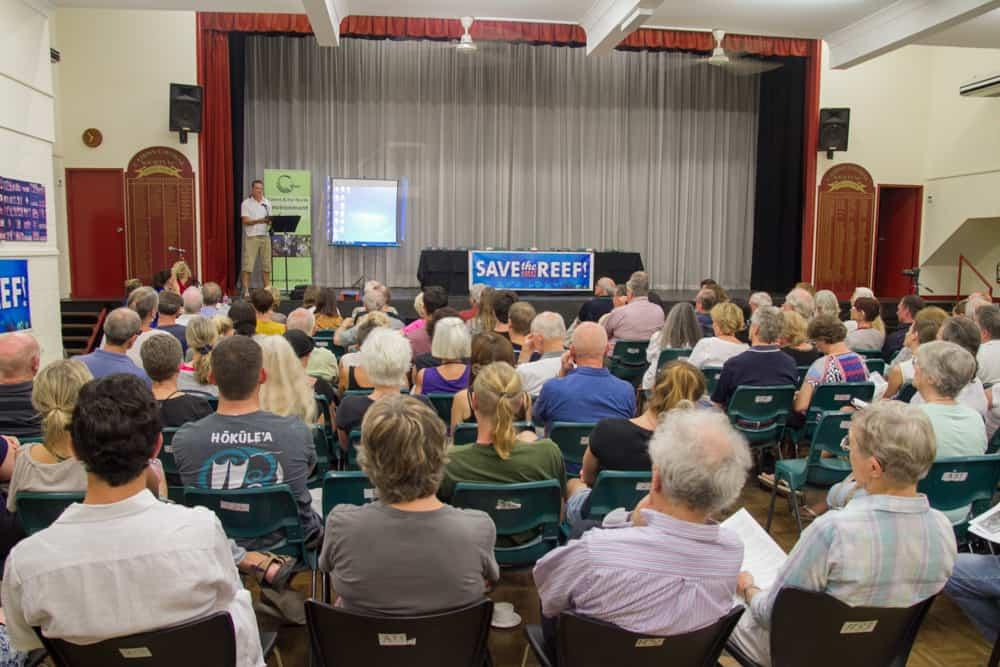 Community forum on Cairns dredging a resounding success