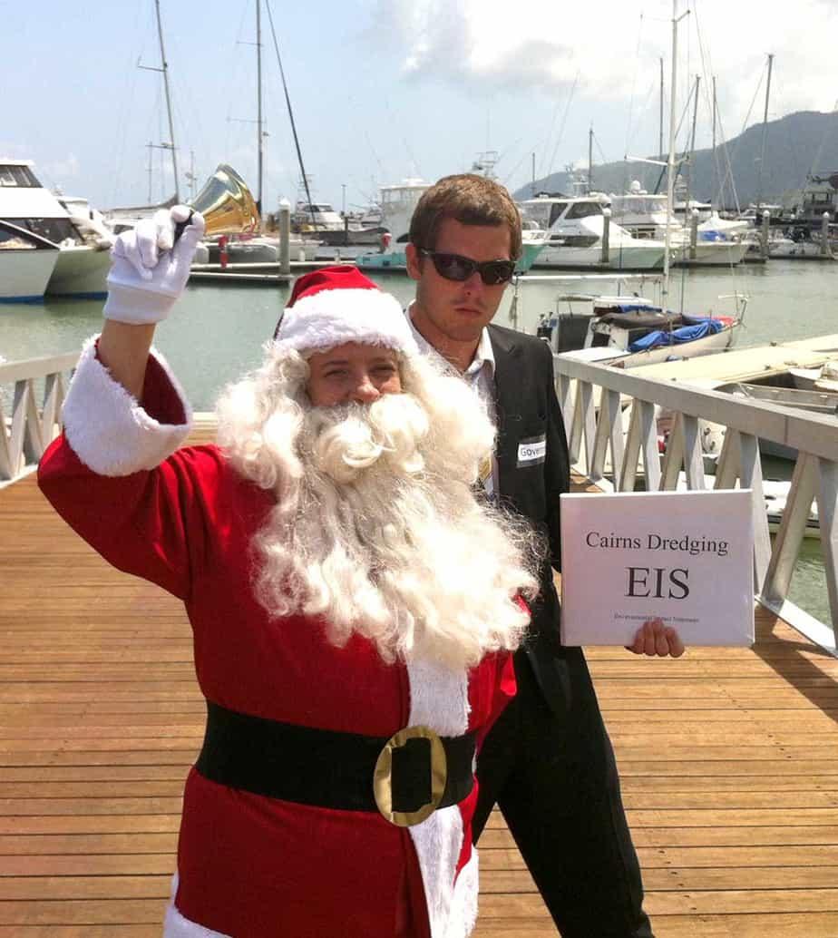 Cairns Port dredging EIS to hide behind Santa?