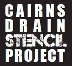 Addressing urban water pollution – Cairns Drain Stencil Project Launch