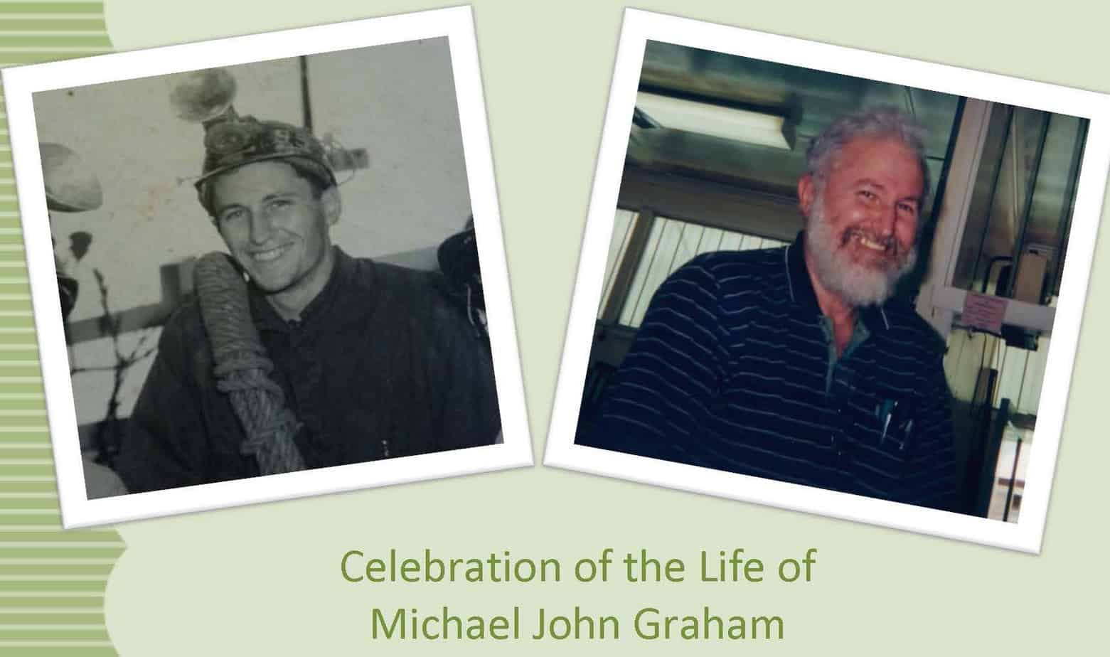 Celebration of the Life of Michael John Graham