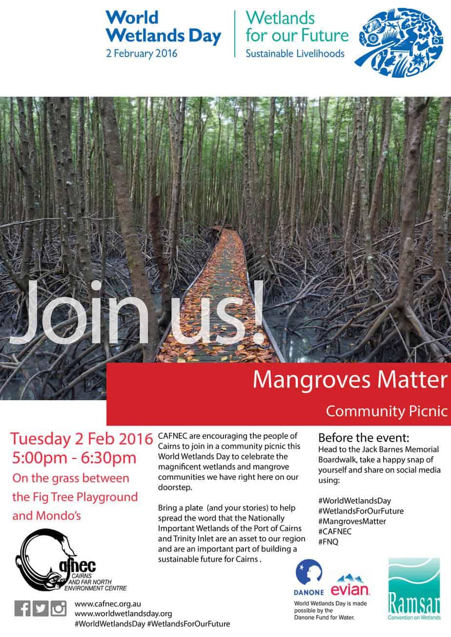 World Wetlands Day – Mangroves Matter