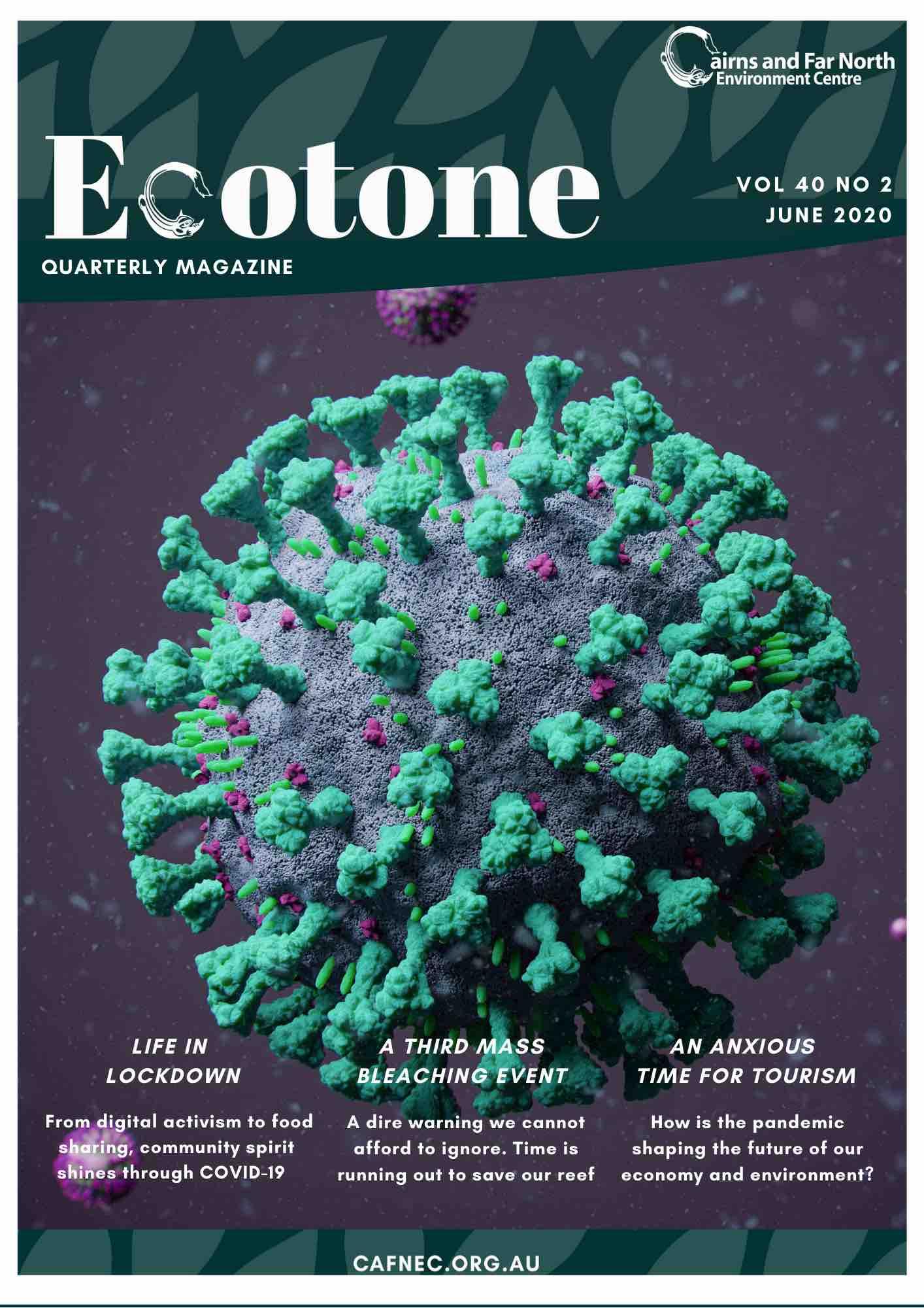 Ecotone cover June 2020